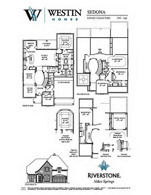 Westin Homes Floor Plans Part - 20: 6035 Sydney Park Lane, Sugar Land TX 77479