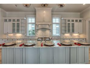 Large Island Kitchen with granite counter top