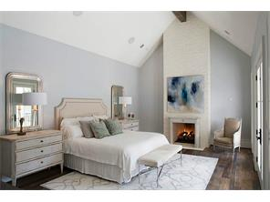 Master bedroom in a recent construction by Cupic Custom Homes - selections for Landon Ln are still available to be made.