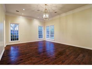 Another look at the first floor master bedroom.  This over sized room has high ceilings and ample natural lighting.