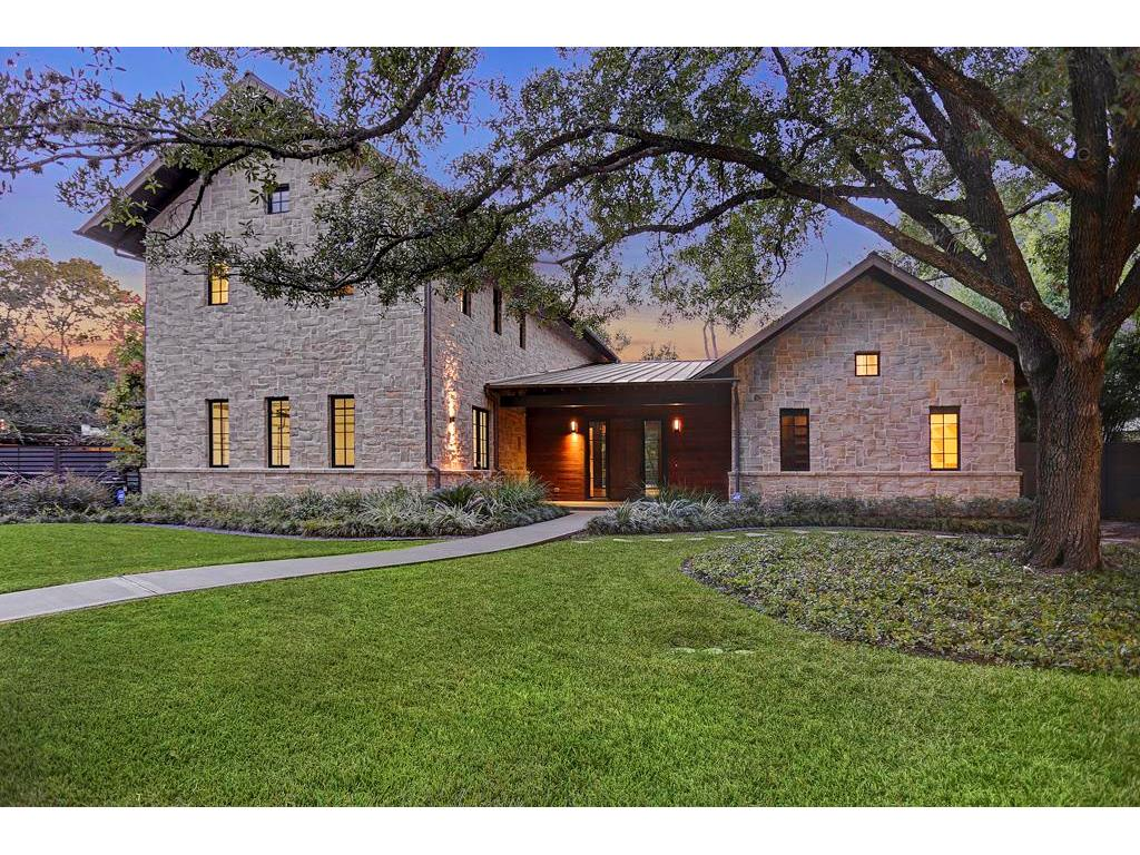 Absolutely stunning custom Hill Country inspired modern architecture, featuring four bedrooms and four and a half bathrooms.