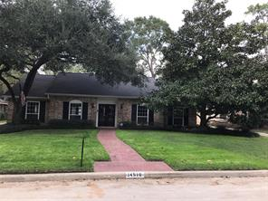 Houston Home at 14510 Bramblewood Drive Houston                           , TX                           , 77079-6504 For Sale