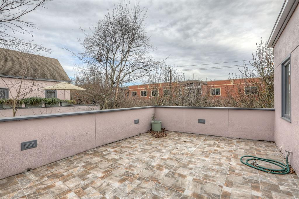 This awesome patio is adjacent to the living area and kitchen and is perfect for entertaining or enjoying your morning coffee.