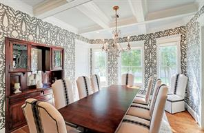 FORMAL DINING - FORMAL DINING - Original 1920 s dining room built-in was saved and refurbished.Stunning finishes throughout!