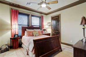 Spacious bedroom with closet space. High quality finishes from the main residence continue into the Casita.