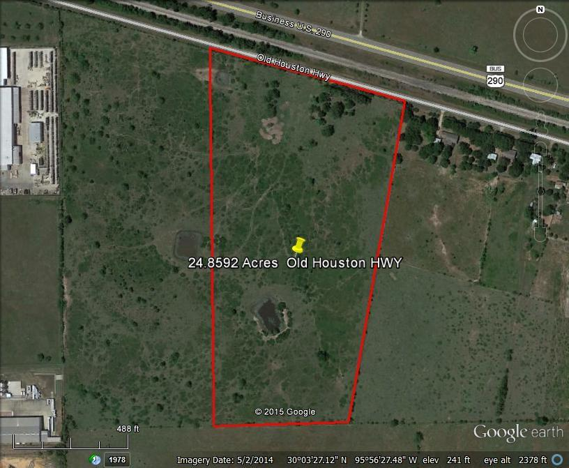 Houston Area Map Cities%0A Property Photo for       Old Houston Hwy W Fm     Waller  TX