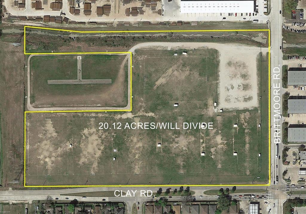 Land for Sale at 0 Brittmoore Road 0 Brittmoore Road Houston, Texas 77041 United States