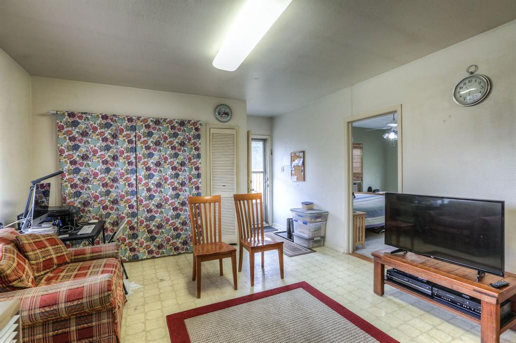 Family room adjacent to the kitchen/dining space is great casual space and offers lots of flexibility