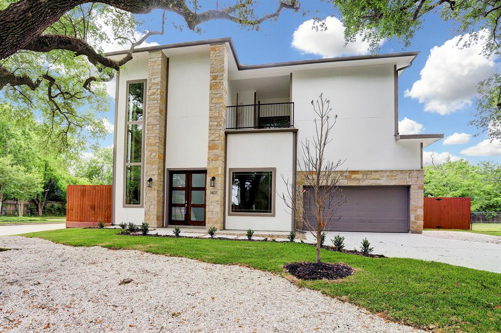 This home isn't just walls and a roof, it tells a story.  Newly-constructed 4 bed, 3.5 bath boasts unique design and creative architecture, saying a lot about the person living in it. spacious and airy with large rooms and lofty ceilings, it gives a sense of unrestrained freedom. Windows, abundant and atypical, provide natural light complimenting wonderous wood floors and native granite countertops. Front balcony, dual back balcony and covered back porch look out on a big, beautiful back yard. If your life is a story, start the next chapter here.