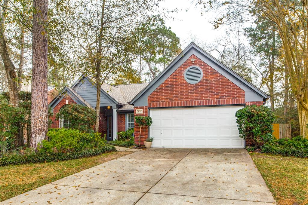 43 Trillium, The Woodlands, Montgomery, Texas, United States 77381, 4 Bedrooms Bedrooms, ,2 BathroomsBathrooms,Rental,Exclusive right to sell/lease,Trillium,262936
