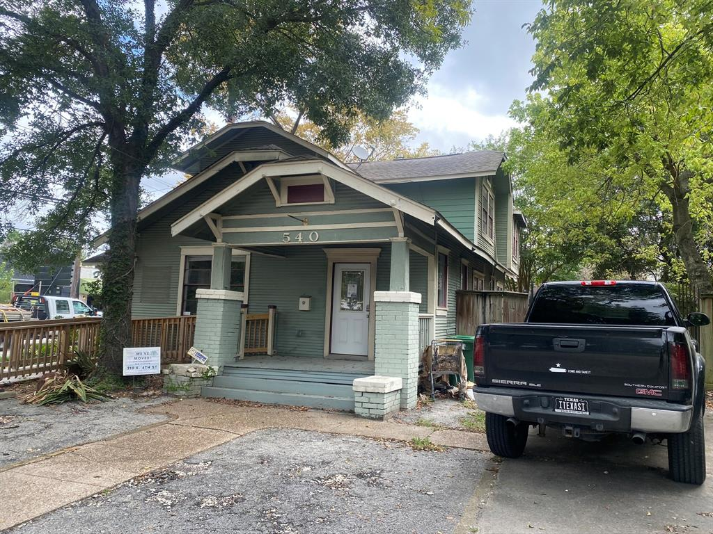 540 Frasier, Houston, Harris, Texas, United States 77007, 3 Bedrooms Bedrooms, ,2 BathroomsBathrooms,Rental,Exclusive right to sell/lease,Frasier,95619805