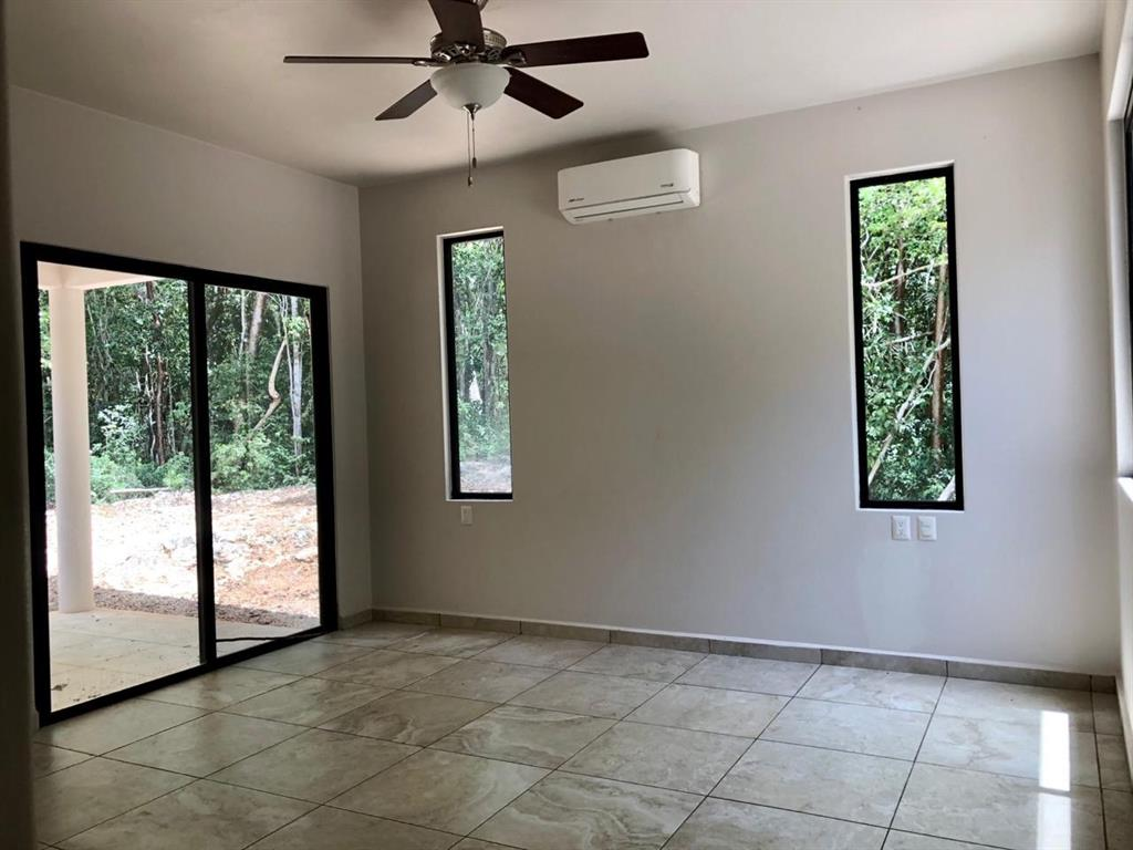 Master bedroom with its own porch
