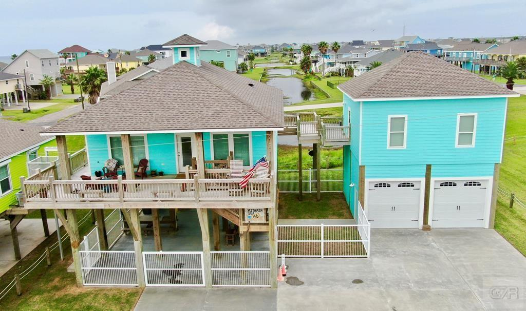 A truly unique property on two lots in popular Maryland subdivision of Crystal Beach.  This property