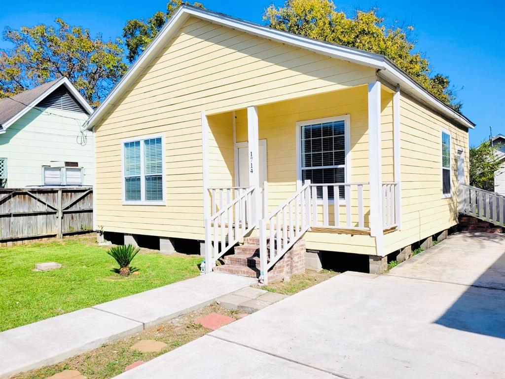 1714 Common, Houston, Harris, Texas, United States 77009, 2 Bedrooms Bedrooms, ,1 BathroomBathrooms,Rental,Exclusive right to sell/lease,Common,49627632