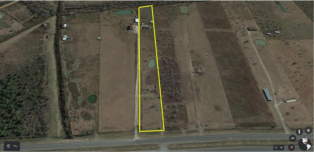 Outline is Approximate property line of parcel. Survey Required for accurate property line information.