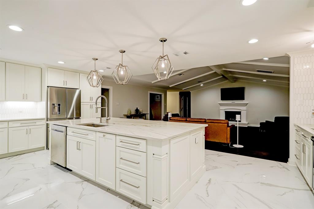 Enjoy true great room living with a wonderful flow between the open kitchen and living area.
