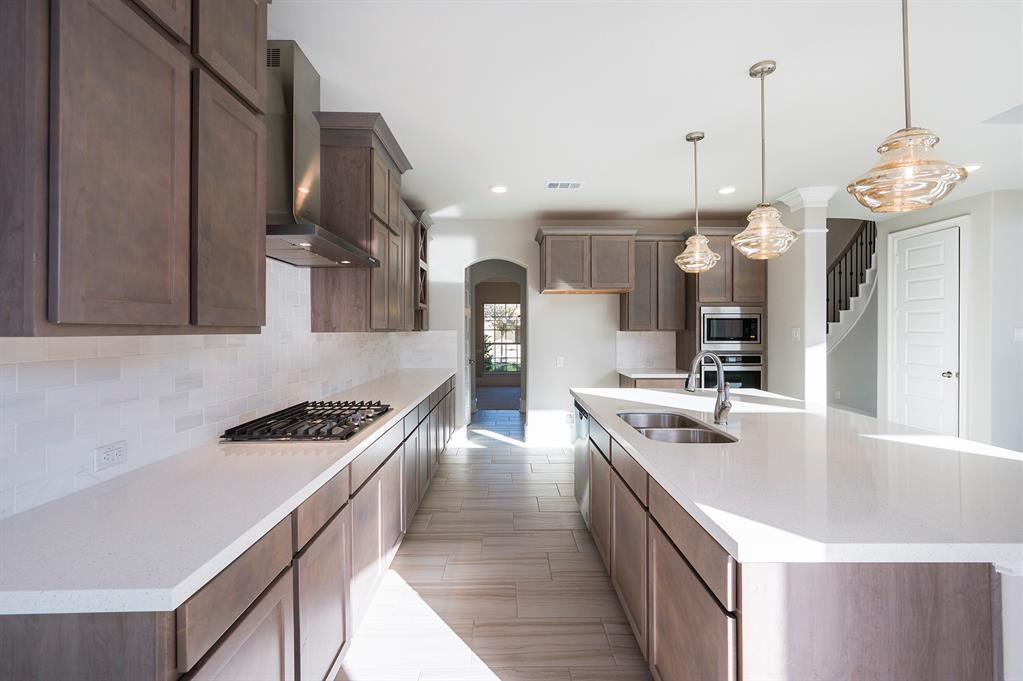 Representational Photo of the Westin Homes NEW Construction (Bellagio II, Elevation G). Home is currently being built. Selections and colors will vary in actual property. Schedule your appointment today to learn more