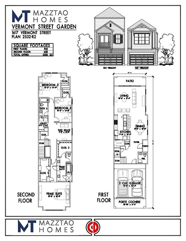 Please be aware that these plans are the property of the architect/builder designer that designed them not DUX Realty, Mazzarino Construction or 1615 VERMONT LLC and are protected from reproduction and sharing under copyright law. These drawing are for general information only. Measurements, square footages and features are for illustrative marketing purposes. All information should be independently verified. Plans are subject to change without notification.