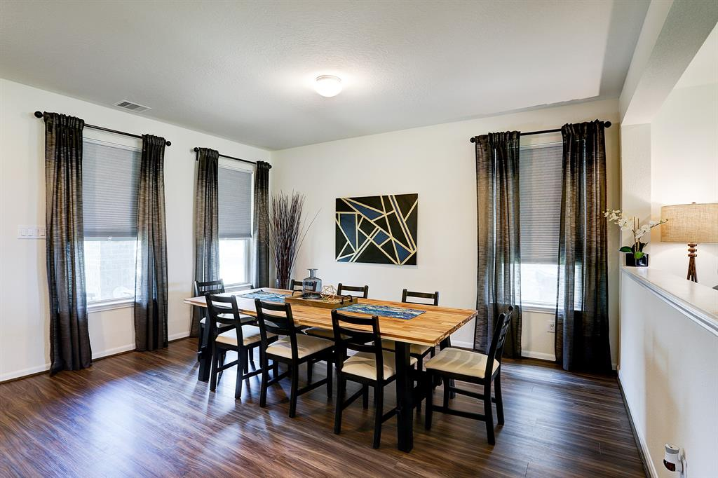 Natural light fill this gorgeous space as you enter the home