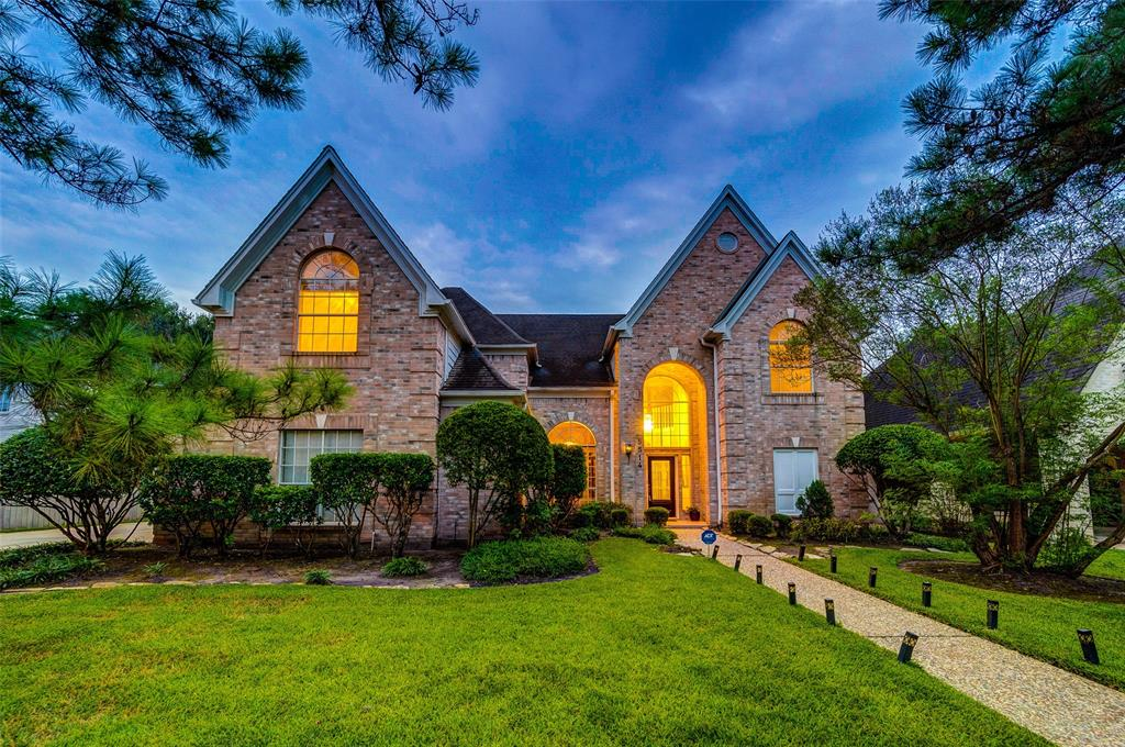 Welcome home to 5514 Fragrant Cloud in the stately guarded community of Twin Lakes. Remodeled home with a private pool is ready for move in ready before the start of school.