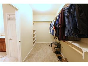 Told You!!  This master closet is any womans dream....Also a secret room, with lock...could be your personal vault.