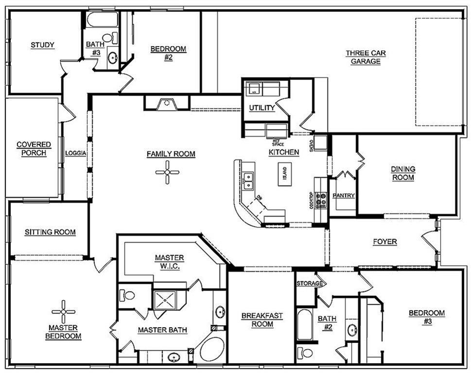 K Hovnanian Floor Plans | 14814 Caden Rock Lane Cypress Tx 77429