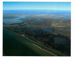 Aerial View from Intracoastal Waterway of Tracts, Halls Bayou, Halls Lake & Cedar Lake.