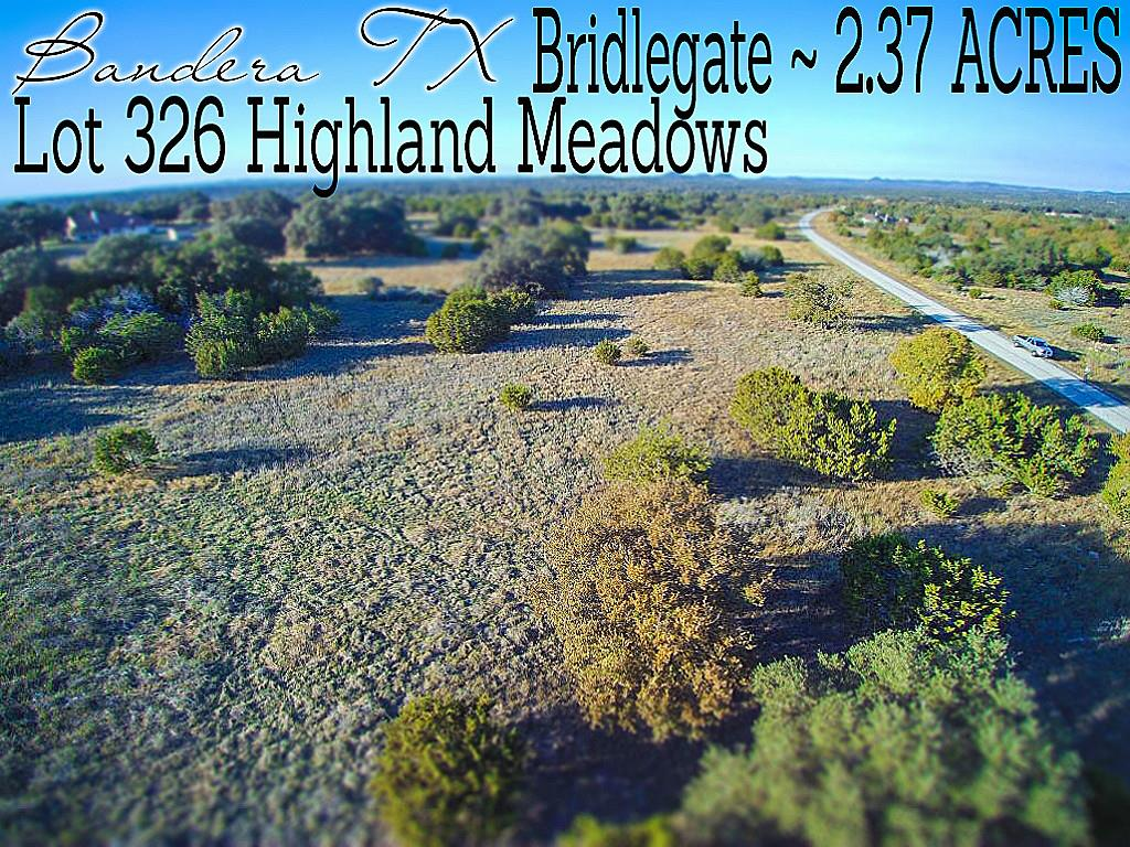 Lot 326 Highland Meadows, Bandera, TX 78003