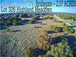 Lot 326 Highland Meadows, Bandera, TX, 78003