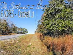 6 ac crockett lane, luling, TX 78648