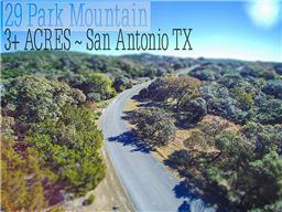 Houston Home at 29 Park Mountain Drive San Antonio , TX , 78255 For Sale