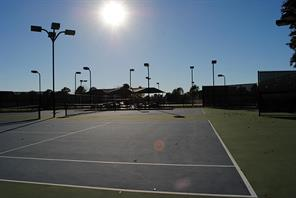 Bentwater tennis courts