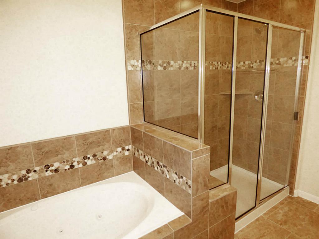Carnan Properties Houston Luxury Real Estate Development - Designer tub and tile