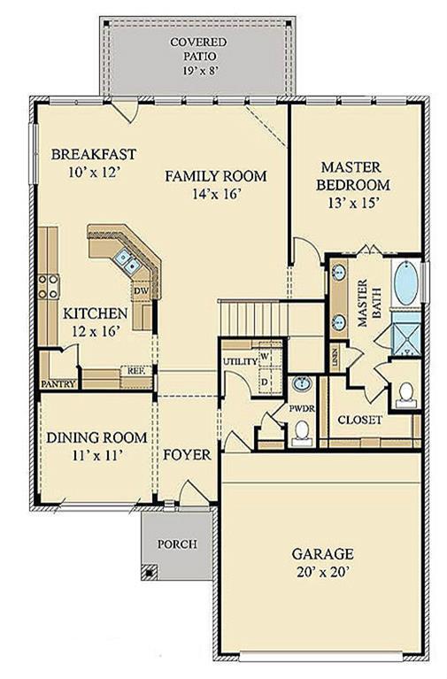 Lennar Home Floor Plans Texas
