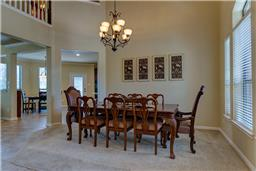 This dining area will accompany a large dining table along with many quests.