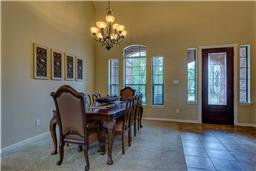 Dining Room with excellence views of your front yard and Cul-De-Sac.