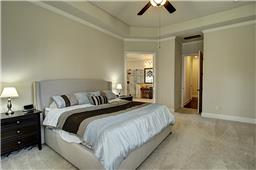 Huge Master Suite with 11  Trey Ceiling