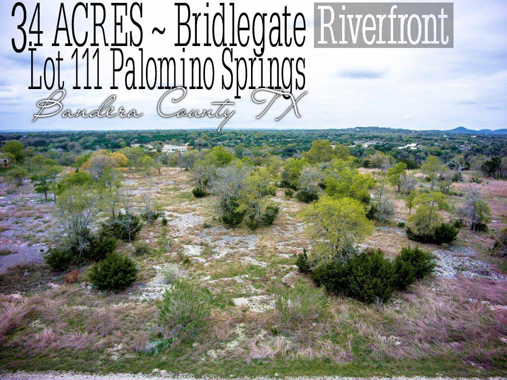 Lot 111 Palomino Springs, Bandera, TX 78003