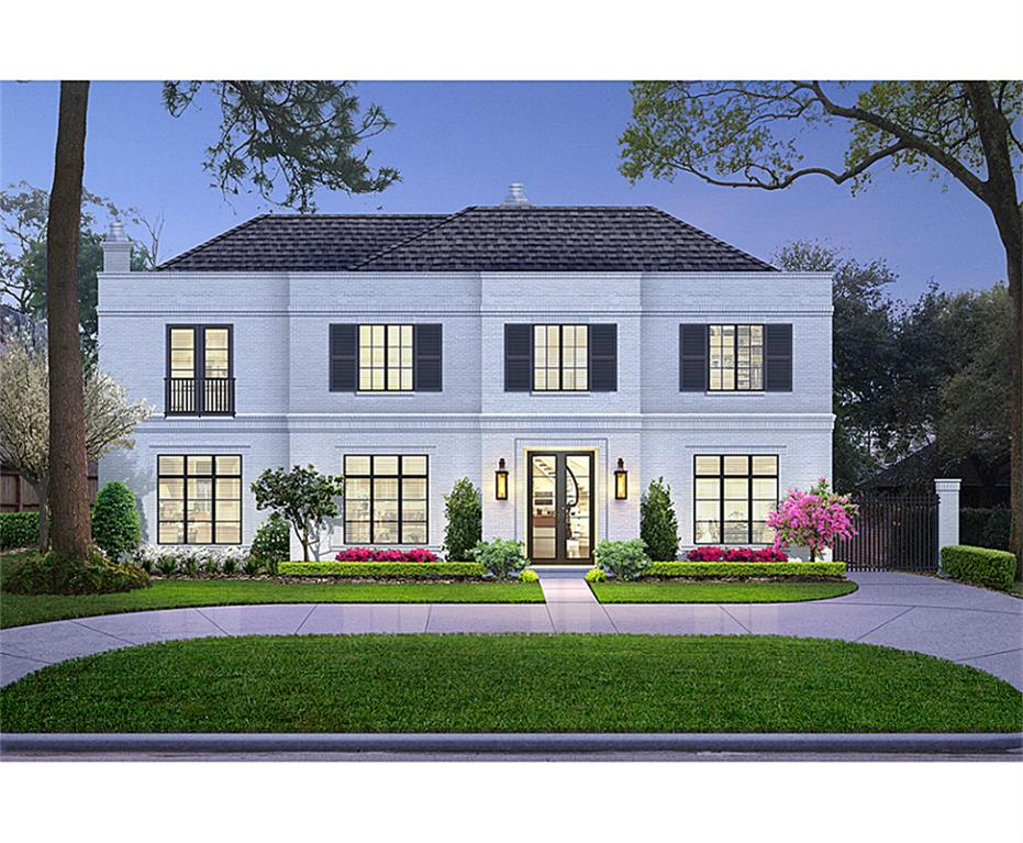 """3851 CHEVY CHASE - Soon-to-be built in River Oaks!  Still time to work with Builder to """"make it your own!""""  Been waiting for a beautiful lot on a premiere street?  Here it is."""