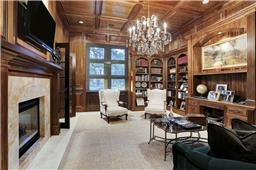 Charter Custom Homes librararies and studies are always focal points of the home.  No expense spared in quality of woods and fixtures.  Picture your dream library or parlor.  We can build it!