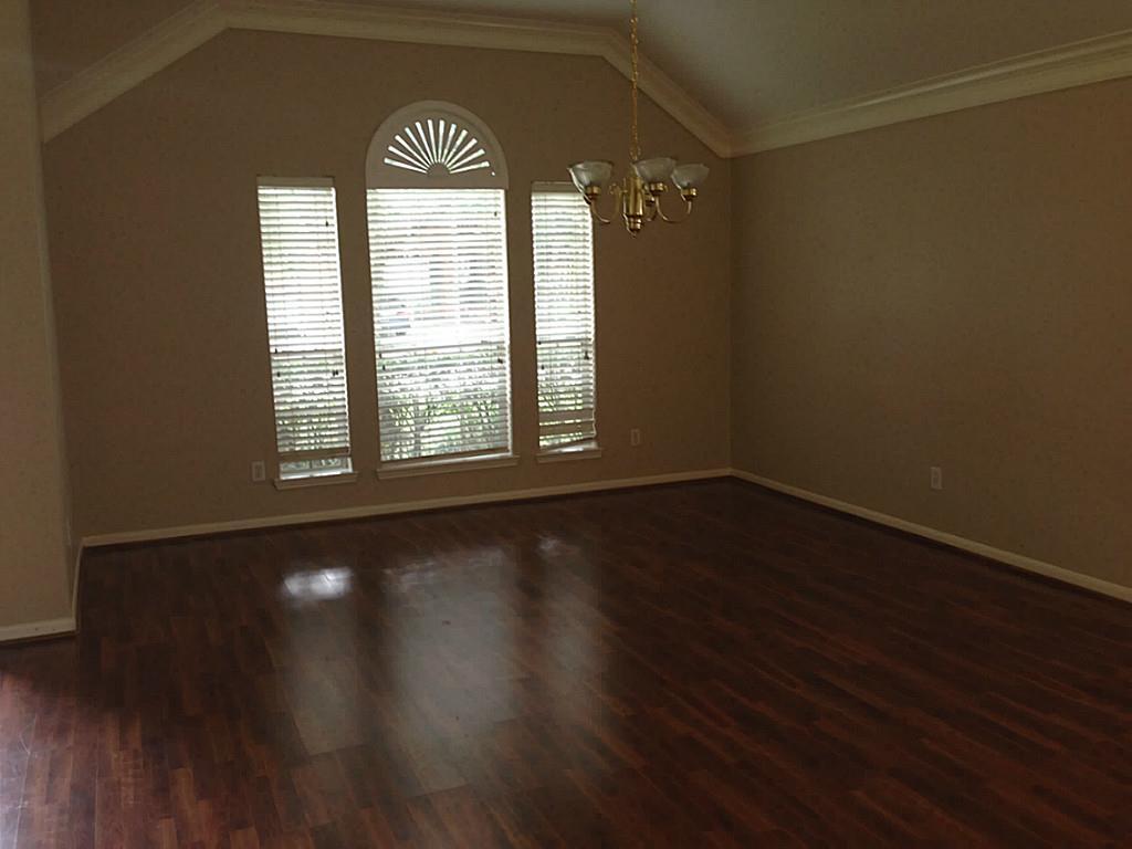 4810 Preston Trails Lane Pasadena Tx 77505 Formal Living Room With Wood Laminate Flooring