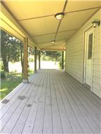 Showing front porch