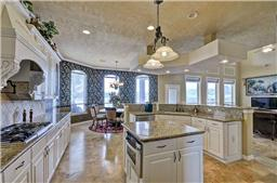 Chef s dream kitchens with plenty of counter space and island.