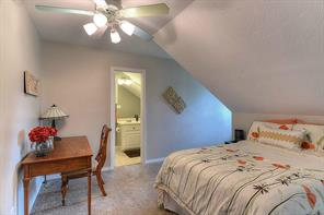 Fourth bedroom has it s own full bathroom. Perfect for guests!