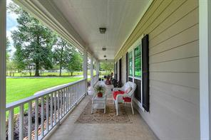 Welcome home.  Enjoy your morning coffee on the extensive front porch and enjoy the wildlife in your yard.