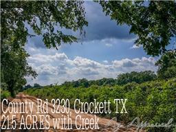 21 ac County Rd 3230, Crockett TX 75835