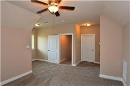 Flexible bonus space with full bathroom could be used as a 5th bedroom, an office, gameroom, media room, etc.