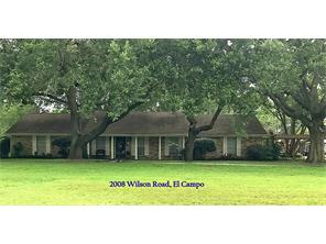 Houston Home at 2008 Wilson Road El Campo , TX , 77437-9500 For Sale