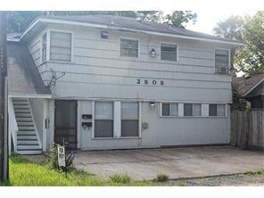 Houston Home at 2808 Columbia 2 Houston , TX , 77008 For Sale