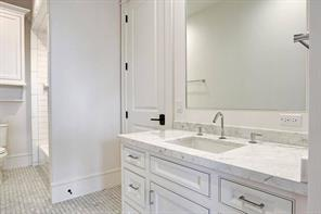 Another secondary bathroom.Image is of another, similarly constructed property.
